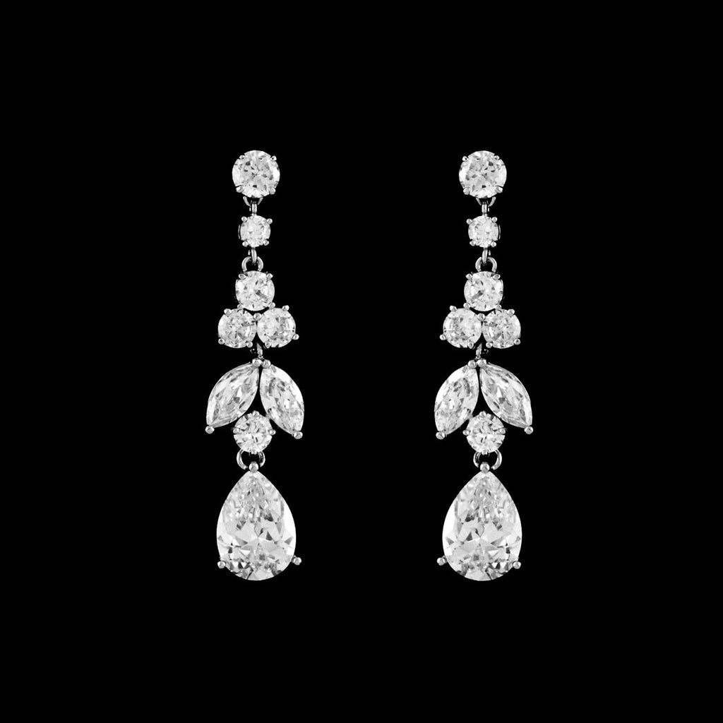 CZ Dangle Earrings EA-271