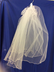 Communion veil/plain.