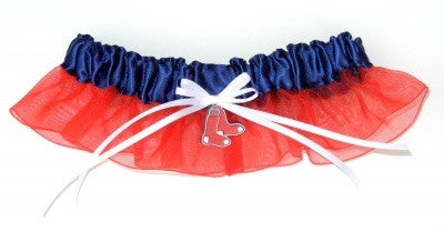 Boston Red Sox Inspired Garter with Licensed Charm
