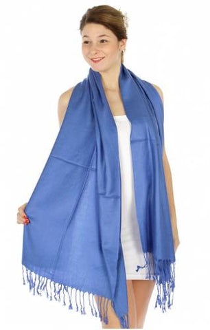 Pashmina Royal Blue IS0010