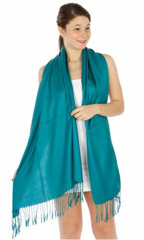 Pashmina Teal IS0013