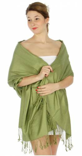 Pashmina Green IS0015