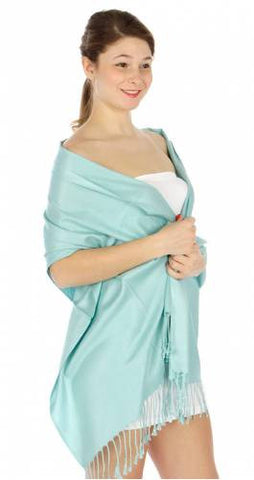 Pashmina Cyan IS0021