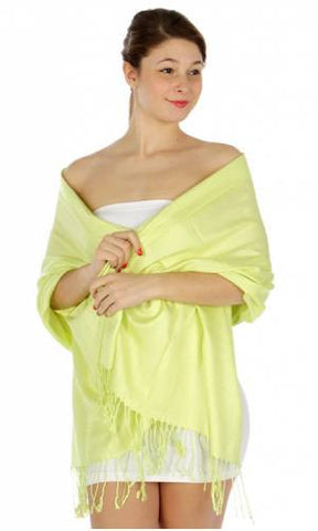 Pashmina Key Lime IS0024