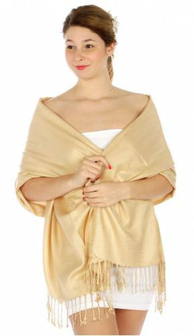 Pashmina Beige IS0029