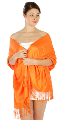 Pashmina Orange IS0039