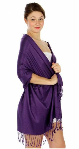 Pashmina Violet  IS0049