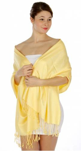 Pashmina Mellow Yellow IS0044