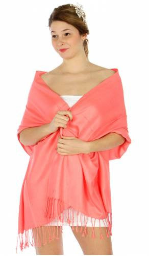 Pashmina Light Coral IS0060