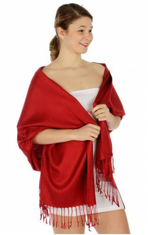 Pashmina Red IS0066