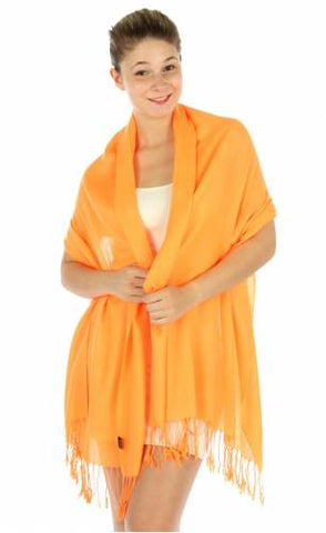 Pashmina Orange SZP802