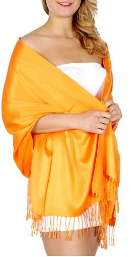 Pashmina Dark Orange GA00239