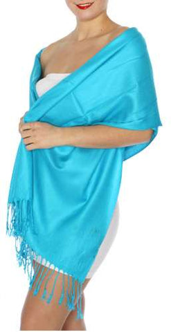 Pashmina Turquoise IS0034