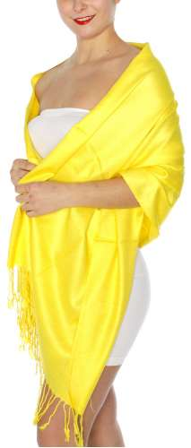Pashmina Yellow IS0038