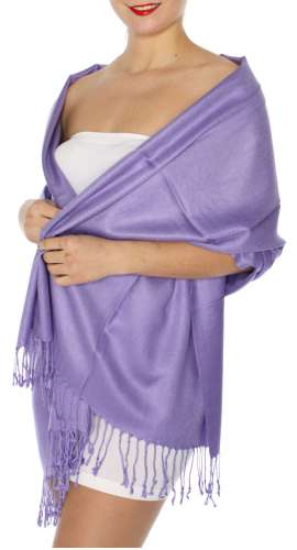 Pashmina Light Purple IS0061