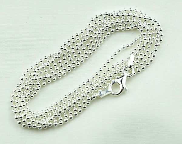 Chain 1.5mm Ball 90cm was $37.50