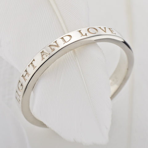 Light and Love Ring