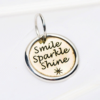 Smile Sparkle Shine Charm was $33
