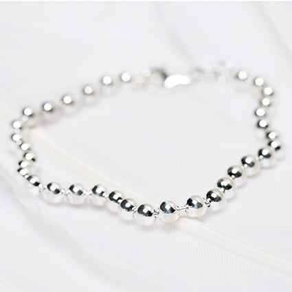 Silver Ball Chain Bracelet was $66