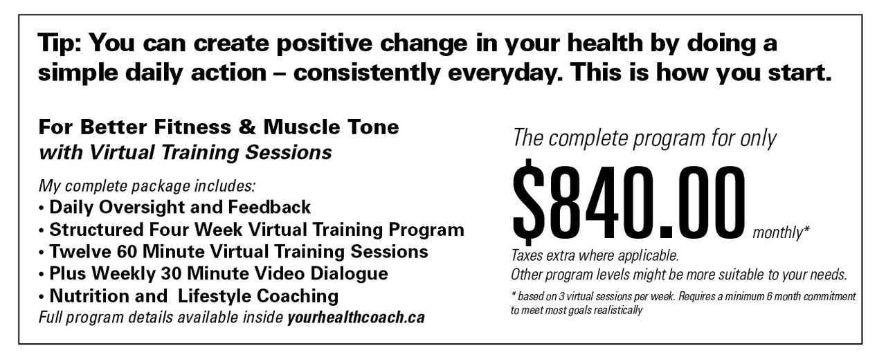 Special offers from Your Health Coach