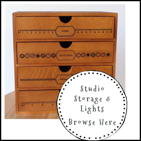Studio Storage & Display Decor