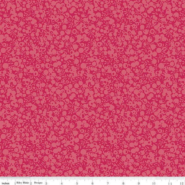 Liberty ~ Wiltshire Shadow Collection~Raspberry