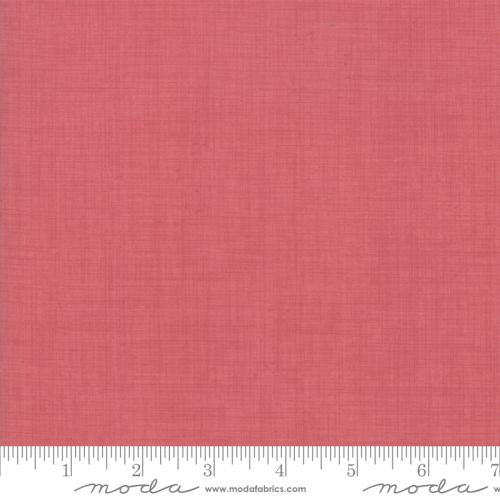 Linen texture~ Faded Red~ French General favorites 13529-19