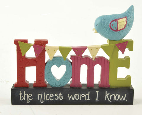 Ruffle your Feathers ~ Home the nicest word I know~ RF1