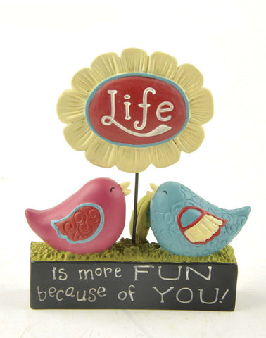 Ruffle your Feathers ~  Life is more fun because of you!