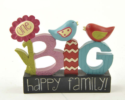 Ruffle your Feathers ~  One Big Happy family!