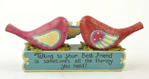 Ruffle your Feathers ~Talking to Your Best Friend is sometimes all the therapy you need!