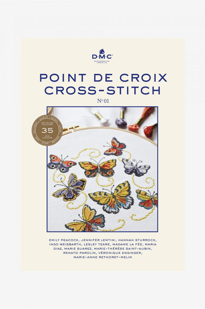 DMC  Point de Croix pattern book