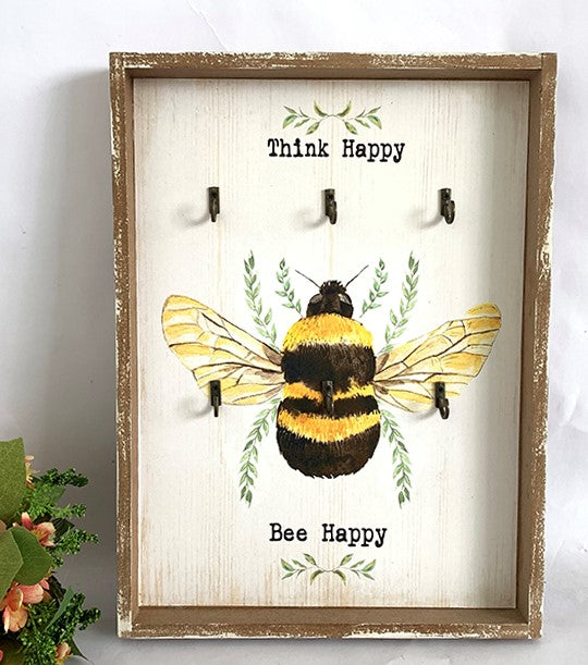 Bee Keeper of the Keys ~ Think Happy Bee Happy~HB4