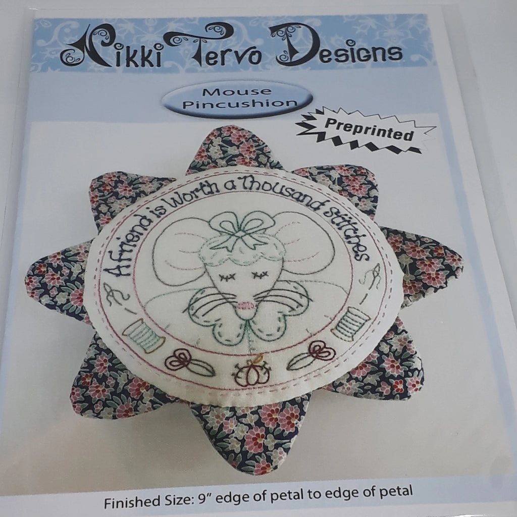 Nikki Tervo Designs Pattern ~ Mouse Pincushion