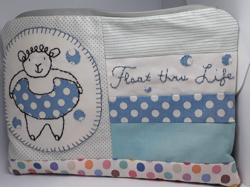 "Monthly Punnet Project ~ August~""Float thru Life"" Satchel Pattern & Kit"
