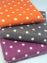 Linen Mochi Dots Bundle of 3~ Moda