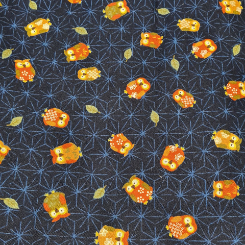 Daikan~Owls~ Japanese fabric
