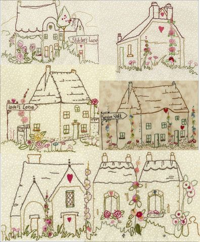 "Thimblestitch ~""The Village Square""~ Set 2 Patterns"