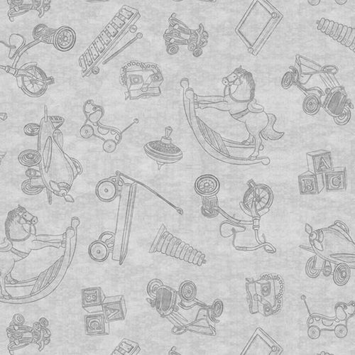 Toyland- Toile Toss ~Grey