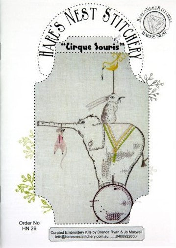Hare's Nest Stitchery  ~Cirque Souris no 1