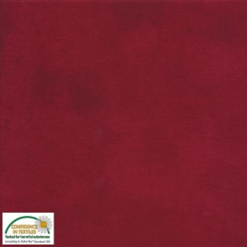 Quilters Shadow Blenders Red~ Stof Fabrics of Denmark