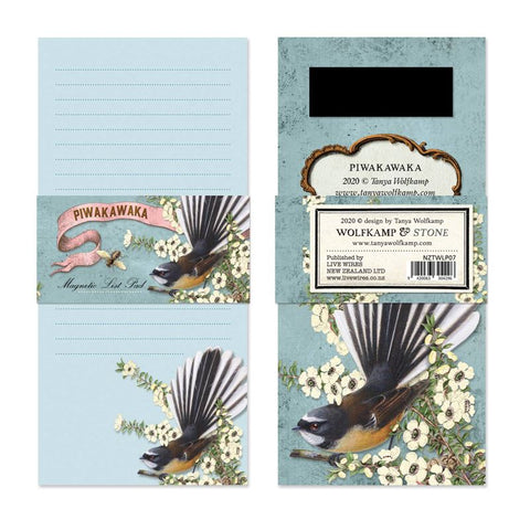Fantail- Magnetic List Pad