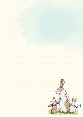Meadow Rabbits - Memo Pad