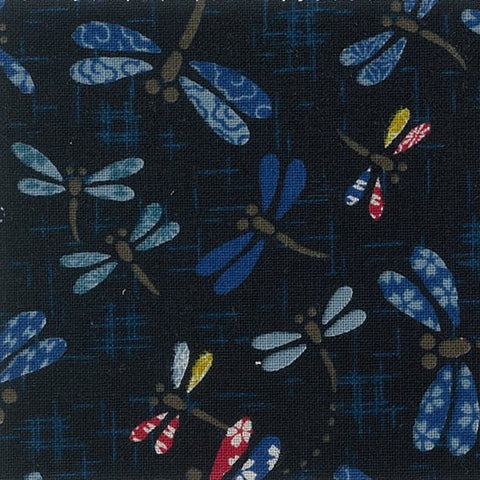 Daikan~dancing dragonflies~ Japanese fabric