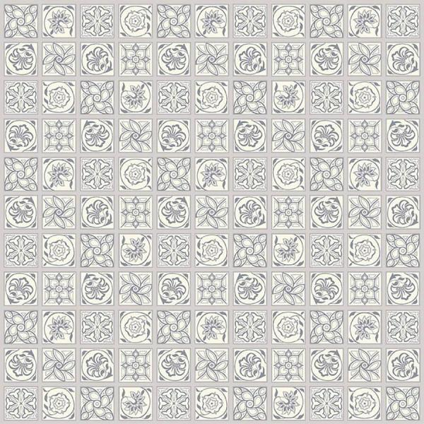 Liberty ~ The Emporium Collection 1~ Argyll Tile in Grey