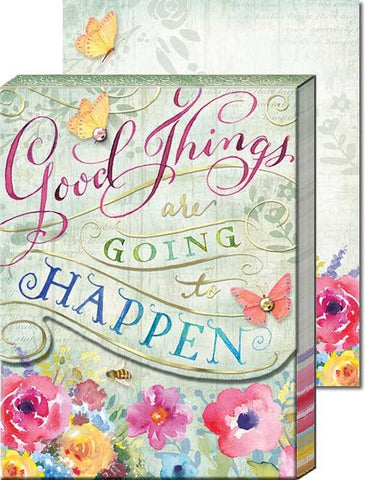Punch Studio - Good Things Words of Wisdom - Pocket Notepad