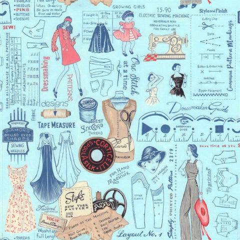 Sew Vintage~layout design