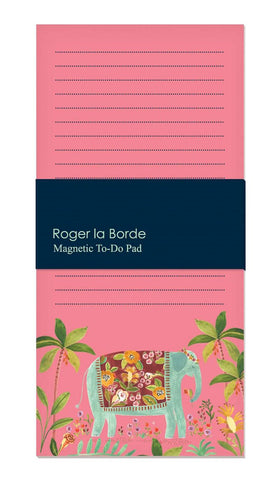 Roger La Borde - Elephant- Magnetic Fridge Pad