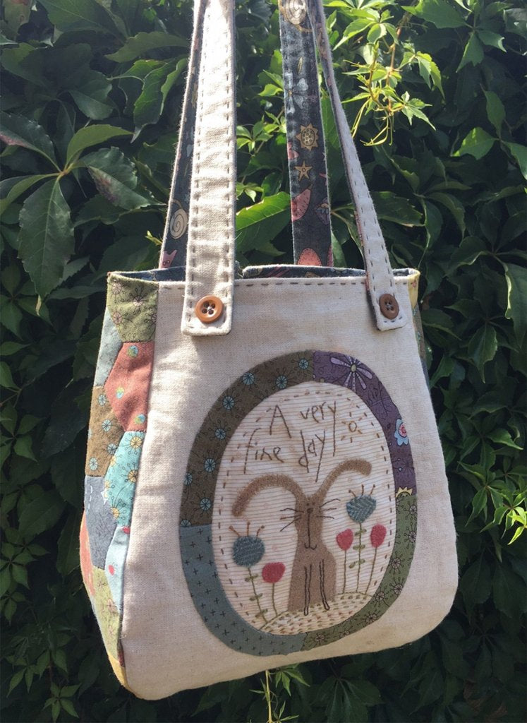 Hatched & Patched ~One Fine Day Project Bag