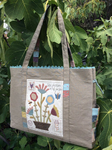 Hatched & Patched ~Sunday Sampler Bag